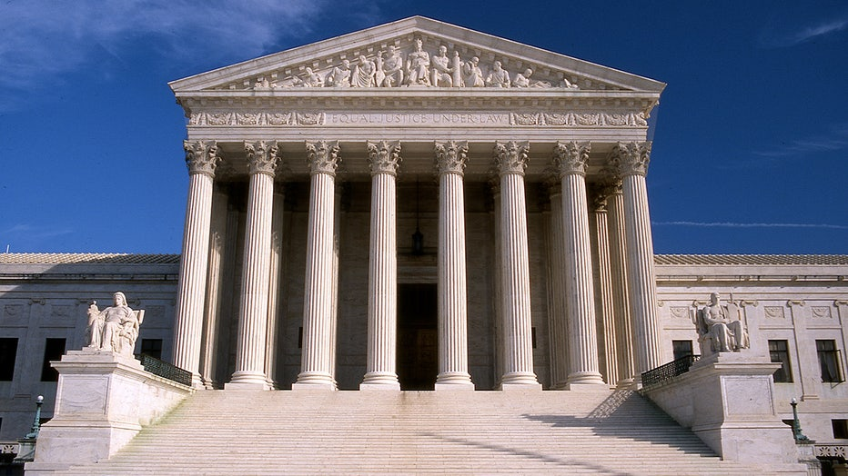 Facade and steps United States Supreme Court building
