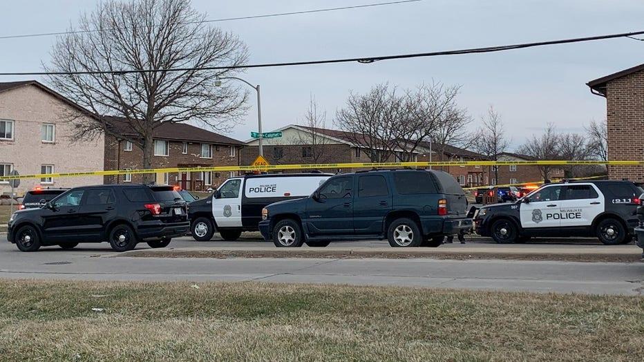Police presence near 78th and Calumet, Milwaukee