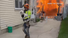 Tree trimmers saved dogs, residents from 'big blaze' in Greenfield