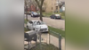 Video shows suspect hit sidewalk during Milwaukee police pursuit