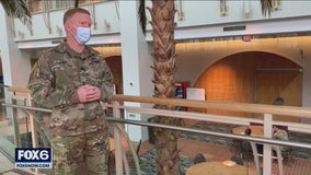 Soldiers eye goal of thousands of vaccinations per day at Wisconsin Center