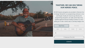 Guitars 4 Vets: MKE nonprofit's website crashes after ACM spotlight