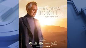 Andrea Bocelli to open US tour at Fiserv Forum on Oct. 13