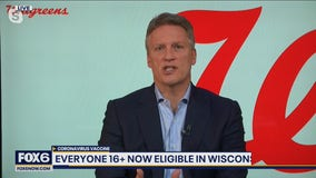 Information on the vaccine rollout to everyone 16 and older in WI