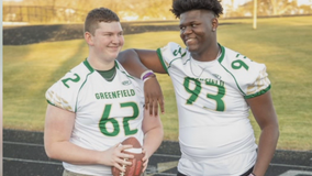Greenfield DE moves in with teammate, closer to school