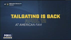 Tailgating is back at American Family Field