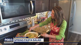 Asparagus season is here! Check out this spring pasta salad recipe