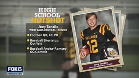 High School Hot Shot: West Allis Central's Joey Tanzilo