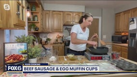 Pre-plan your breakfast: Recipe for beef sausage and egg muffin cups