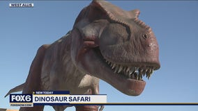 Go back in time with Dino Safari at State Fair Park