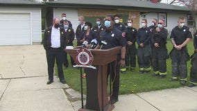 Milwaukee Fire Dept. news conf. on importance of smoke alarms