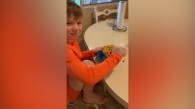 Mom pranks kids with frozen cereal, juice — and their reactions are priceless