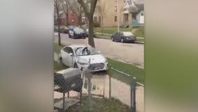 Video shows suspect hit sidewalk during Milwaukee police pursuit