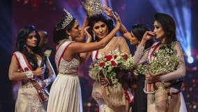Mrs. Sri Lanka pageant winner suffers head injuries after previous winner snatches crown from head