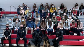 Students donate to K-9 unit of fallen Racine police officers