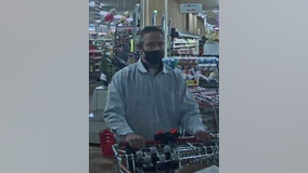 Falls police ask for help identifying suspect accused of retail theft