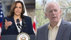 Barrett on vice presidential visit; Harris to tout economic agenda