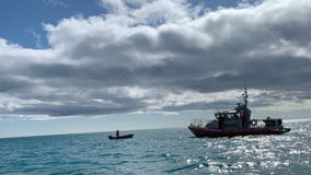 Fishermen rescue boater who fell overboard in Lake Michigan