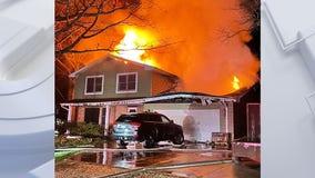 Fire guts 2-story home in Tichigan; no working smoke detectors
