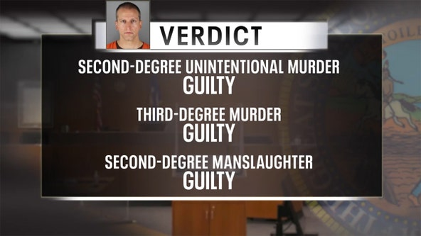Officials, community leaders react to Derek Chauvin guilty verdicts