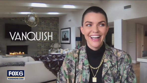 Gino talks with Ruby Rose about new movie 'Vanquish'
