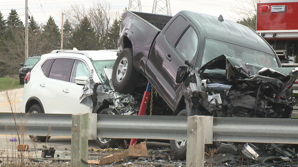 Caledonia man dies after 4-vehicle crash on Highway 32
