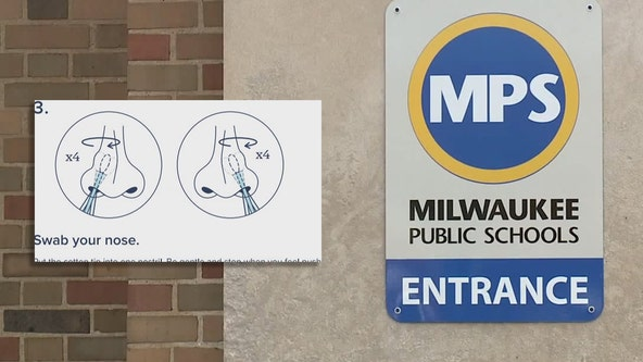 MPS parent takes exception to student self-swab COVID-19 testing