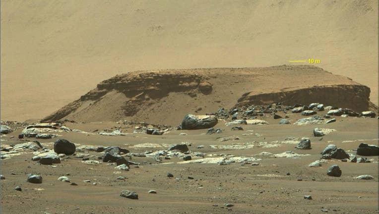 NASA mars perseverance 040721