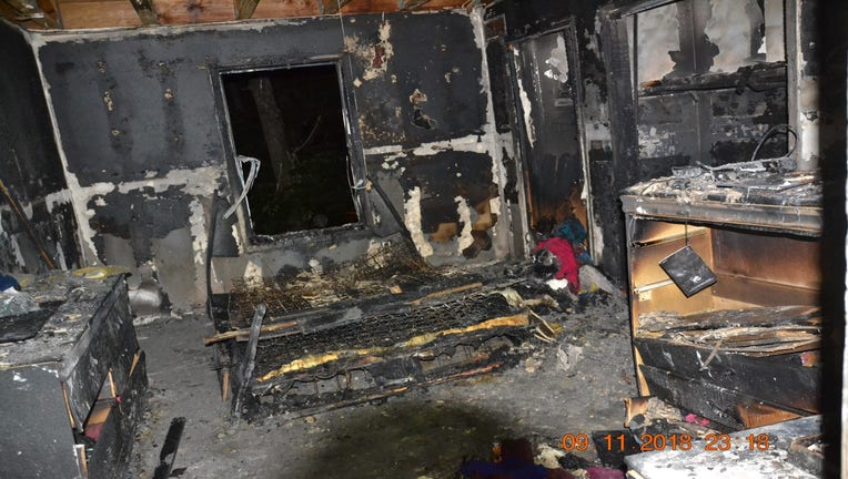 Wilson, Apartment Fire