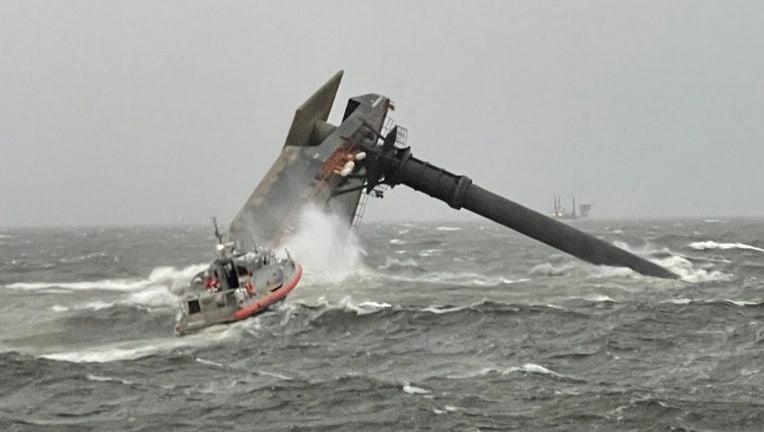 louisiana boat capsize search coast guard