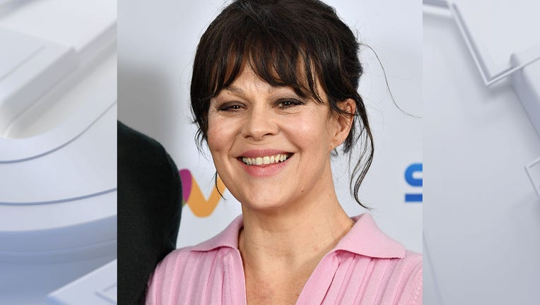 LONDON, ENGLAND - FEBRUARY 24: Helen McCrory attends the