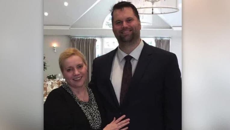 Joshua Terry and his wife.