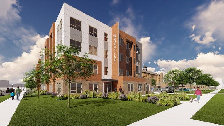 RENDERING: FormerPhillis Wheatley Elementary School to be redeveloped into apartments