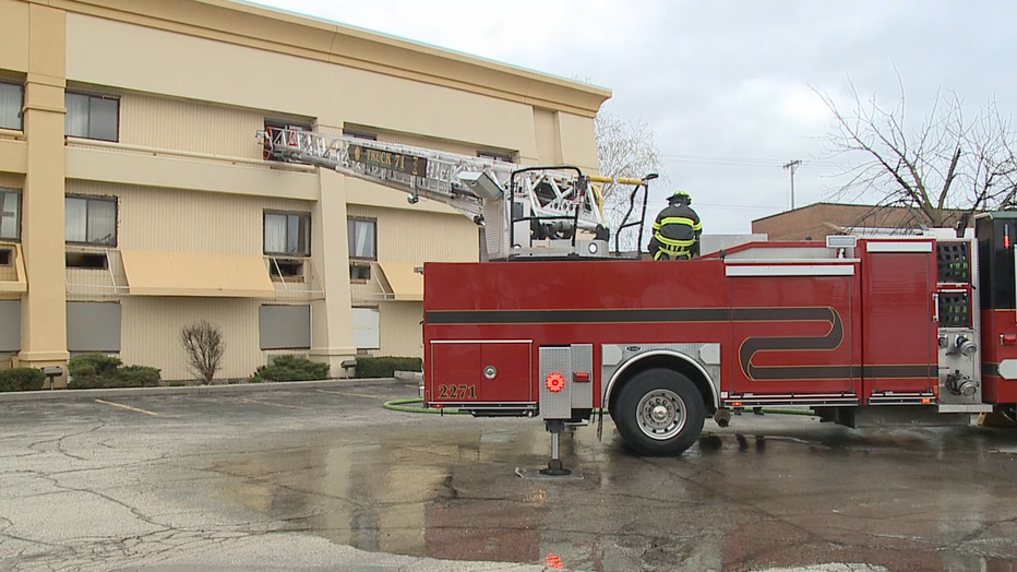 Brookfield firefighters spend 2 weeks training at vacant hotel