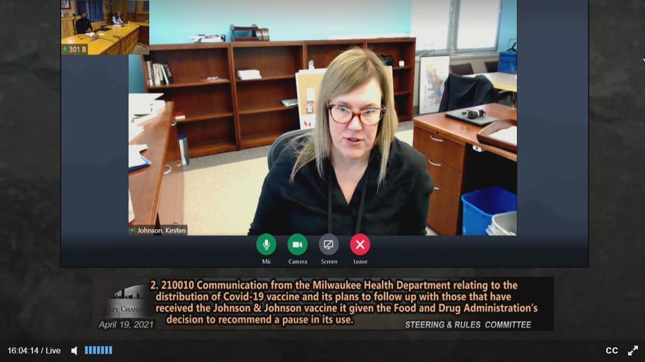 Commissioner of Health Kirsten Johnson