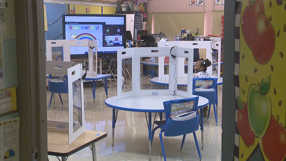 MPS students return to class