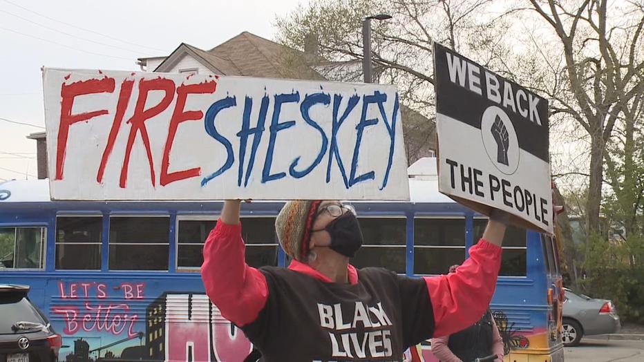 Blake rally