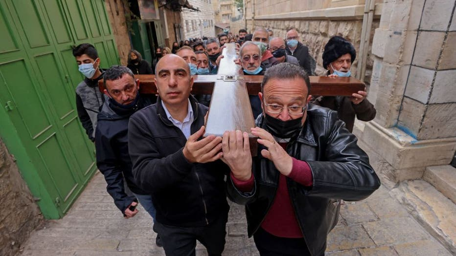 ISRAEL-PALESTINIAN-RELIGION-CHRISTIANITY-GOOD FRIDAY
