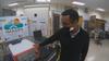 Harris visits Milwaukee: UWM researchers showcase work