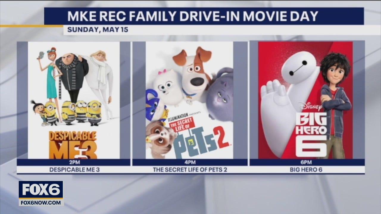 Milwaukee Rec drive-in movie day next Sunday