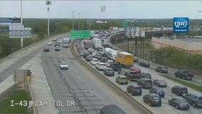 I-43 at Hampton: Shots fired, suspect taken into custody