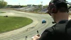 SRX racing at Slinger Speedway