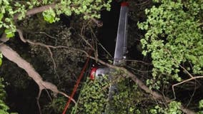 Small plane crash in Whitewater
