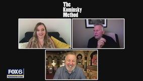 Gino talks with cast of 'The Kominsky Method'