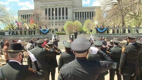 Milwaukee memorial honors fallen officers: 'Always remember'
