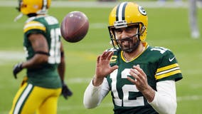 Rodgers says he's spent offseason 'working on myself'
