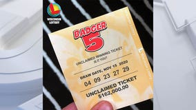 $162K Badger 5 ticket expires May 14, purchased in Brookfield