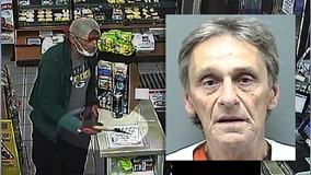 Gas station attempted ax robbery suspect charged