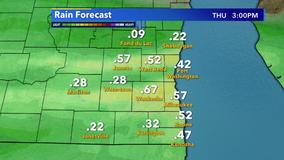 More rain overnight into Thursday for SE Wisconsin