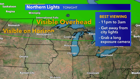 Wisconsinites could see northern lights in parts of state